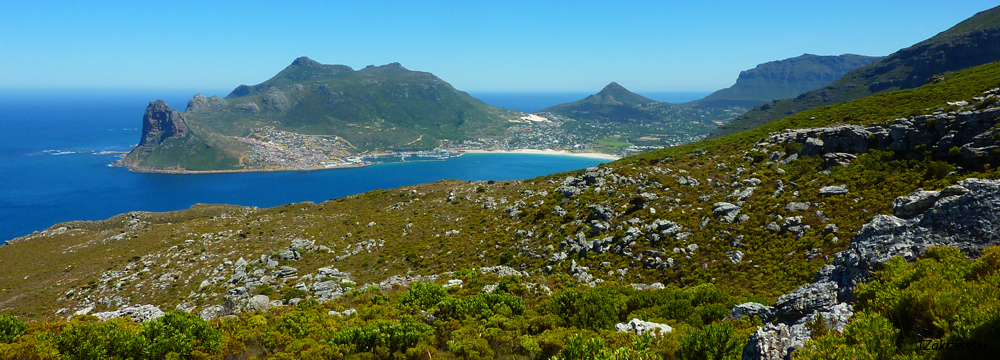 Hoerikwaggo trek view to Houtbay