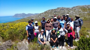 Group trek of the mcsa and students