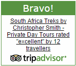 Chris Smith Table Mountain guide Excellent on Trip Advisor